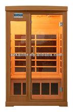 health production canada red cedar far infrared sauna room family use