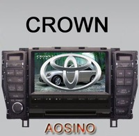 TOYOTA 2010 CROWN DVD PLAYER / car radio with GPS navigation bluetooth PIP double din Best price