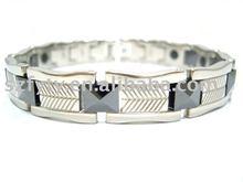 2012 Hot sale ceramic power force ion sport bracelet