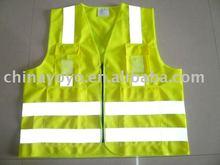 UU204 Yellow Safety Vest