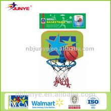 Toy basketball board hoop set