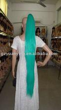 blue cosplay wig ponytail,fake hair ponytails,ponytail wig