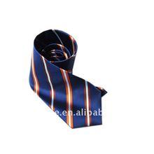In china Navy blue stripe necktie