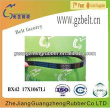 CX40 22X1015LI Raw edge cogged v belt
