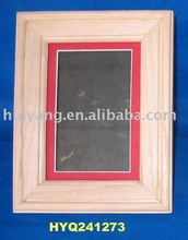 table decorative wooden photo frame