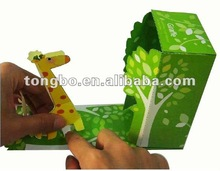 folding Special Design hand made paper box craft handwork paper box