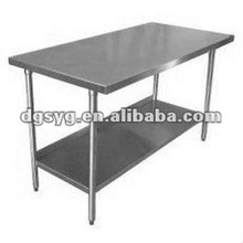 Stainless steel ESD work table with Ce certificate for Non-dust work shop