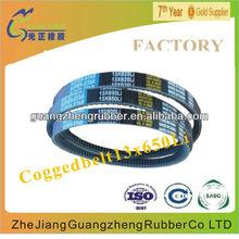 Raw edge v belt AVX10X1250La for FORD