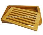 Bamboo Multi-Purpose Bread Board and Crumb Tray