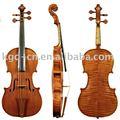 Tapa de arce flameado violín