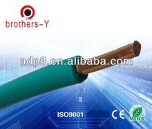 PVC insulated 6mm solid copper electrical cable