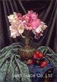 el yapımı güzel yağlıboya çiçek resimleri