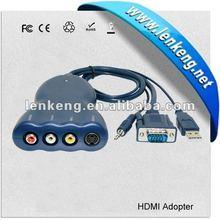 VGA to AV converter with Audio output