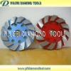 Velcro Disc Diamond Metal Grinding Pad for concrete floor grinding machine