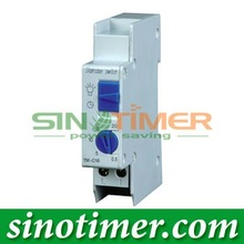 Din rail Staircase Lighting time switch