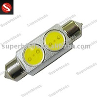 2W high power led car light festoon 211