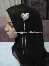 CB066 Beautiful islamic muslim scarf brooches