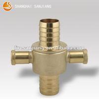 brass English type fire hose coupling