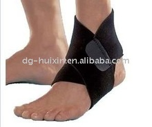 ankle support with plastic