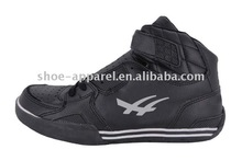 2013 New Arrival High Top Black Mens Basketball Shoes with Buckle UP