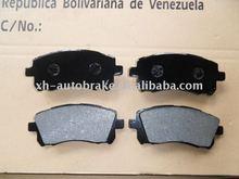 top quality auto brake pad for Subaru D721
