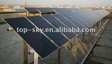 Amorphous Silicon Thin Film solar panel.