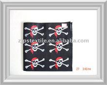 2012 newest 100% cotton pirates customized square bandana