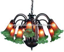 Lilies 12 Light Chandelier lighting vintage antique lamps (JL-2018)