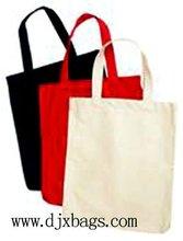 2011 popular design canvas shopping bag D1155
