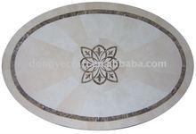 Elegant Outdoor Garden Furniture Oval Marble Table Tops