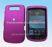 quality rubber hard case for blackberry 9800