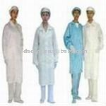 Antistatic cleanroom smock, ESD cotton lab coat