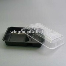lunch packing trays,meating packing trays,blister lunch trays, microwaveable packing trays