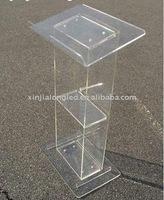 Modern Design Acrylic Platform Acrylic Lectern Acrylic School Lectern