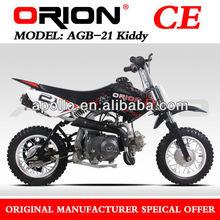 China Apollo ORION 50CC Dirt Bike (AGB-21 50cc Red sticker)