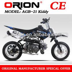 China APOLLO ORION 50cc Dirt Bike Child Kids Mini Pit Bike (AGB-21 50cc Blue sticker)