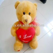 toy factory supply cute plush &stuffed teddy bear plush for valentine's