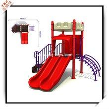 2012 cute plastic outdoor playground equipment