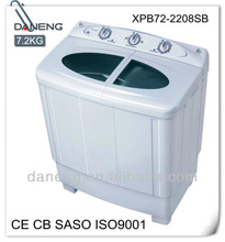 CE CB SASO CCC ISO9001,7.2kg twin tub washing machines