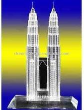 crystal malaysia Petronas Twin Tower, crystal building model