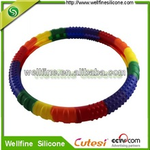 Fashion silicone steering wheel cover