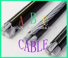 XLPE insulated Aerial Bundled ABC Cable