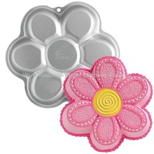 2013 Hot sale :Aluminum alloy cake mould-Flower cake tin/cake pan