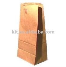 brown kraft paper wine bags
