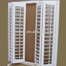 heze kaixn paulownia wooden bathroom window shutters