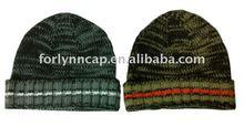 men knitted beanie hat