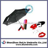 lipstick bottle umbrella