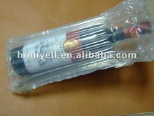 factory sell plastic bubble bag for 750ML wine bottle