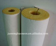 Fiberglass heat insulation Pipe / Glasswool Pipe