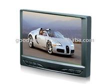 monitor 7 inch car Multimedia 16:9 VGA, AV input